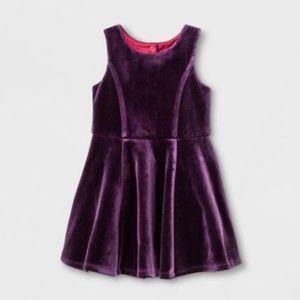 OshKosh for Target Velvet Scuba Dress